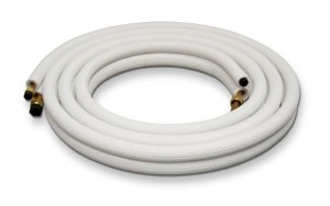 Copper Lineset Insulated for Air Conditioners and Heat pumps - 1/4 x 5/8 - 25 ft