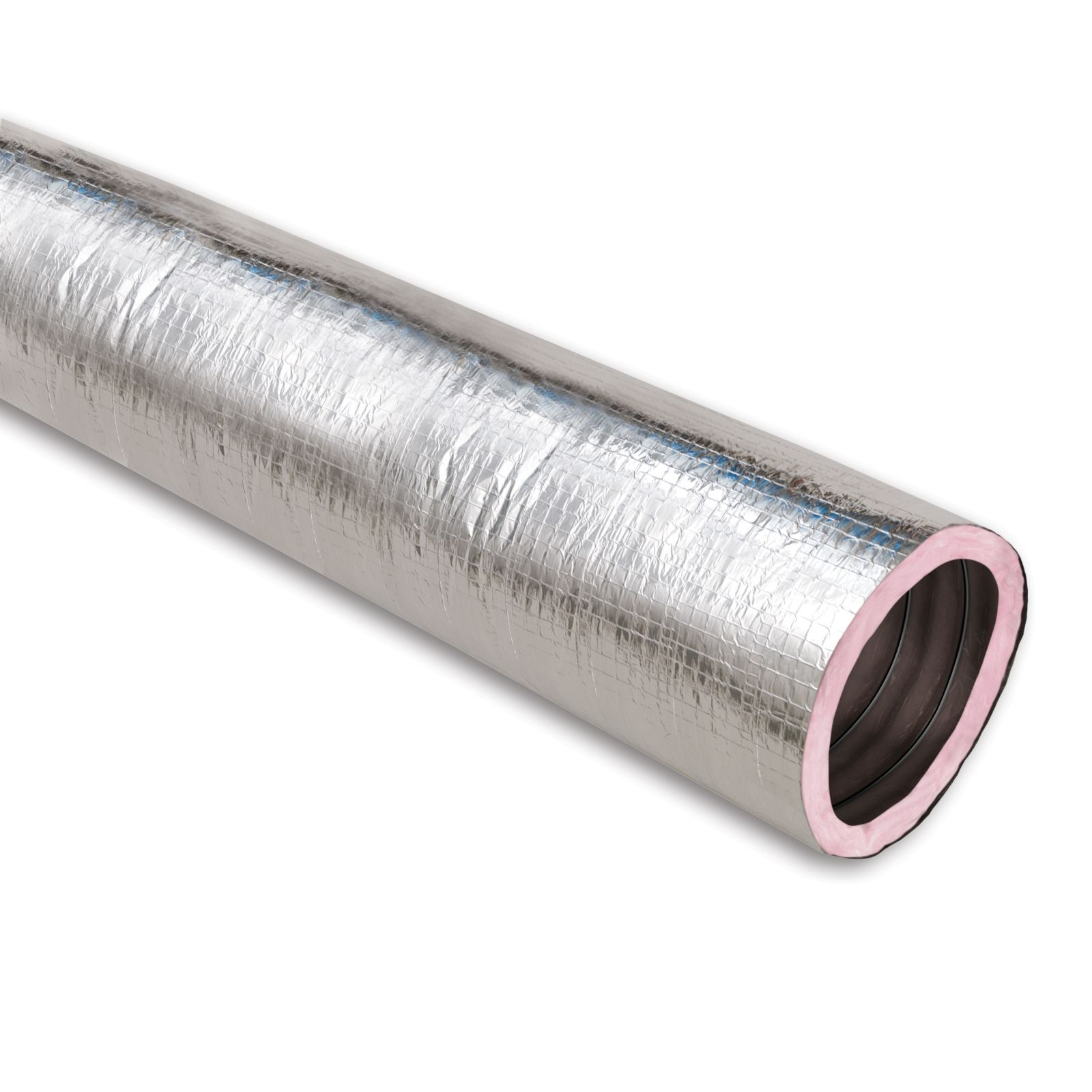 Thermaflex 053805000004 - KM Silver Flex-Vent Insulated Flexible Air Duct, R6, 5'' X 50' Box