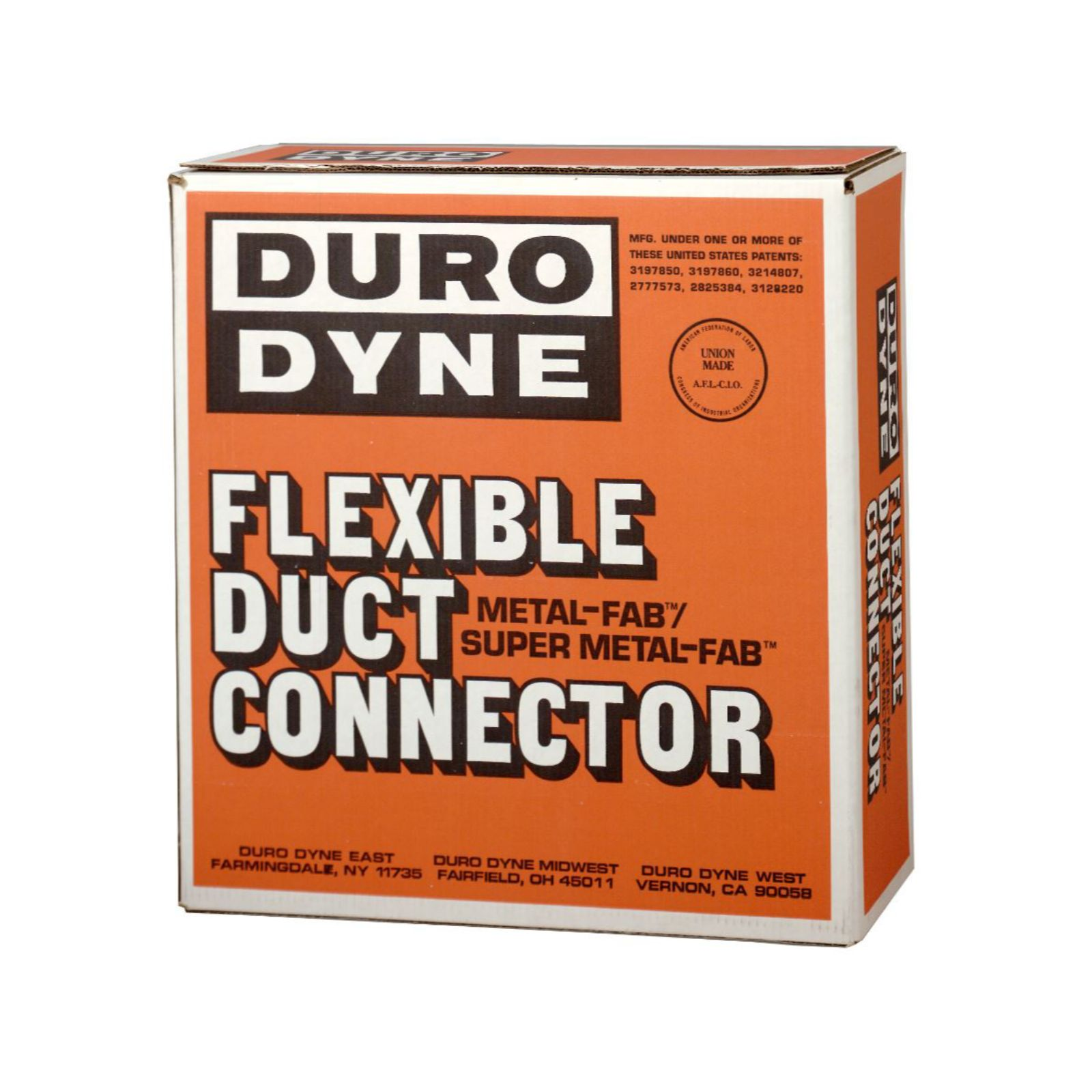 Duro Dyne 10027 -  JRD Junior Durolon Flexible Duct Connector, White, UL #R4462