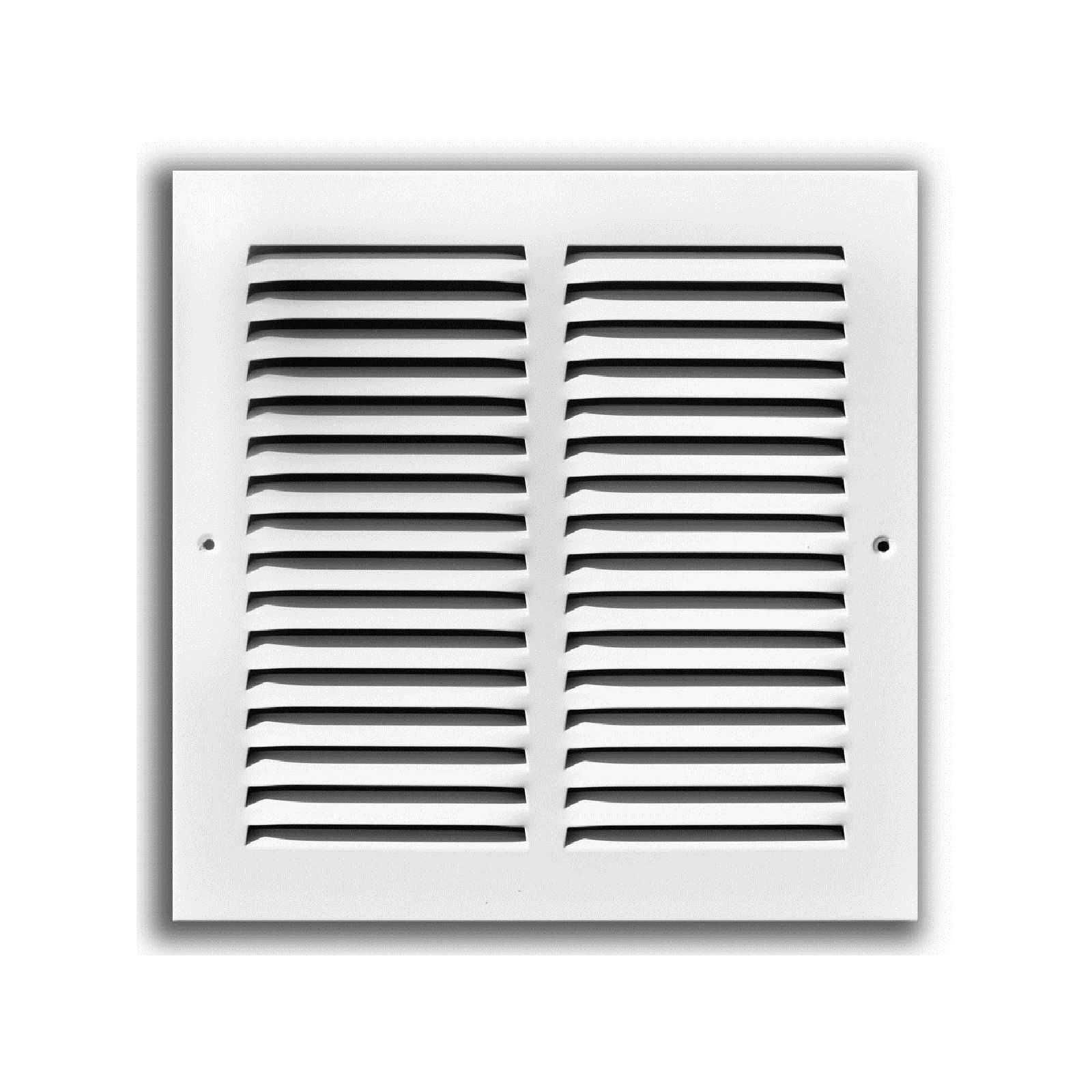 "TRUaire 170 30X06 - Steel Return Air Grille - 1/2"" Spaced Fin, White, 30"" X 06"""