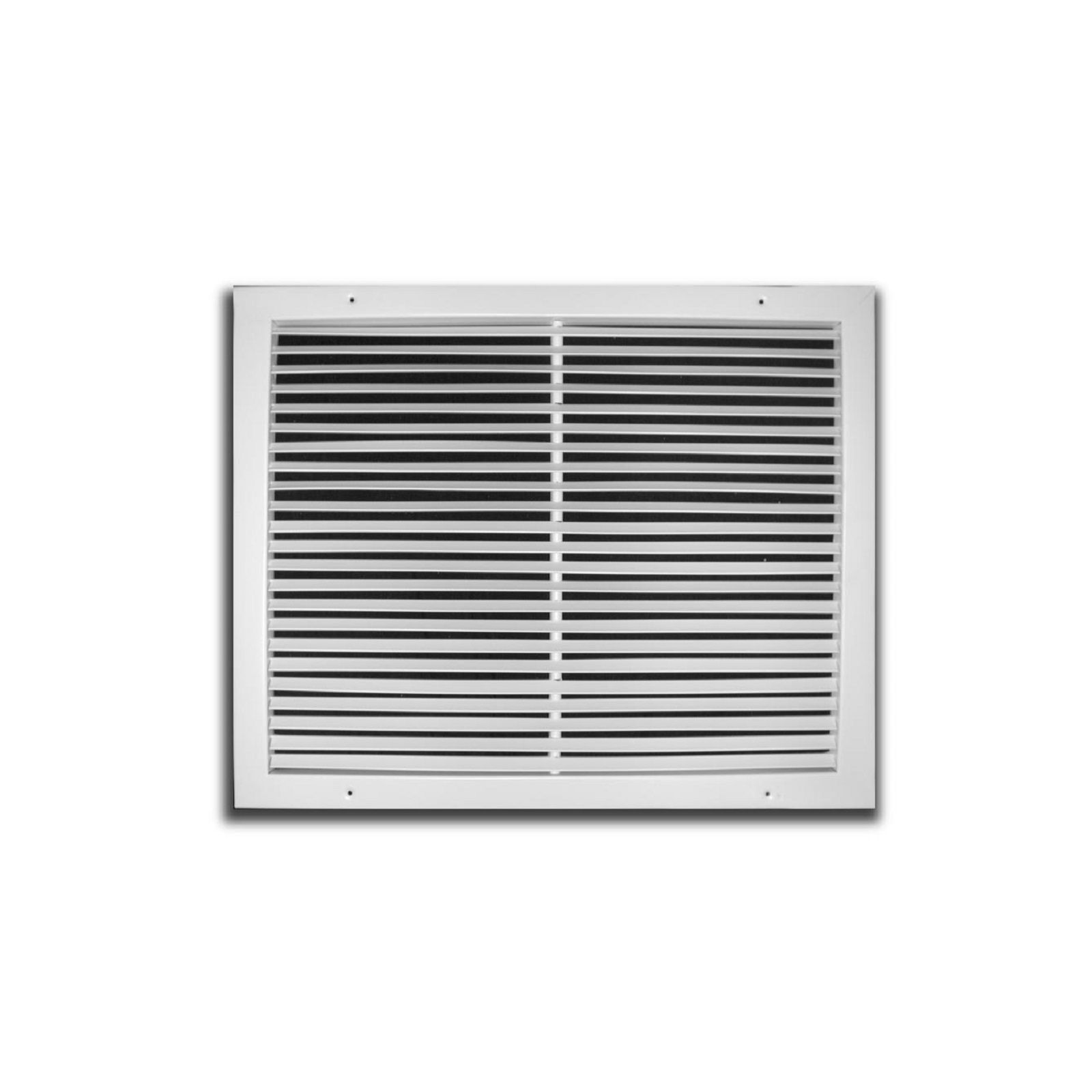 "TRUaire 270 16X24 - Steel Fixed Bar Return Air Grille, White, 16"" X 24"""