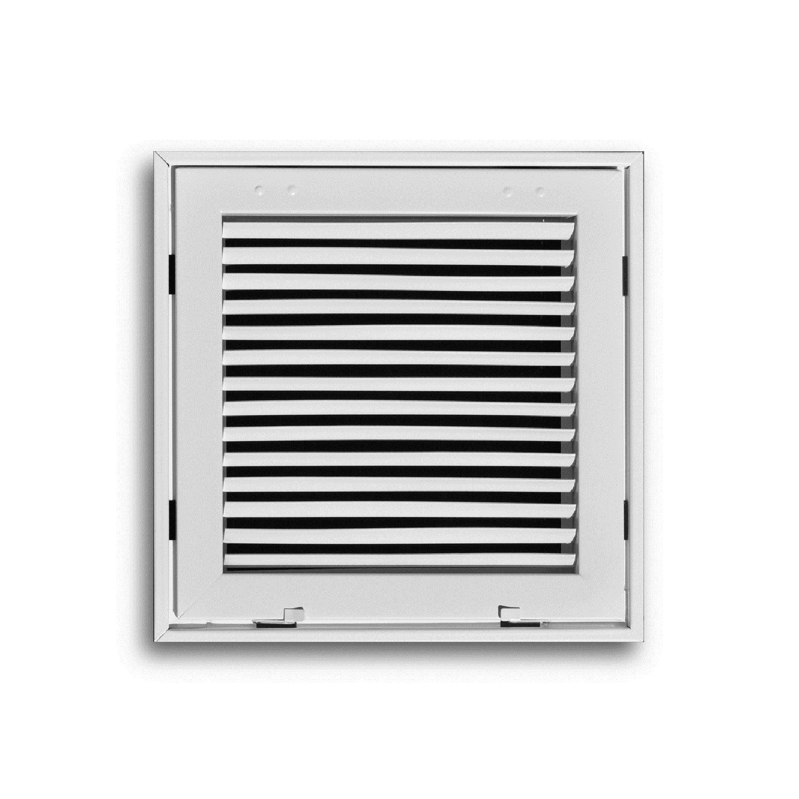 "TRUaire 290 50X20 - Steel Fixed Bar Return Air Filter Grille, White, 50"" X 20"""