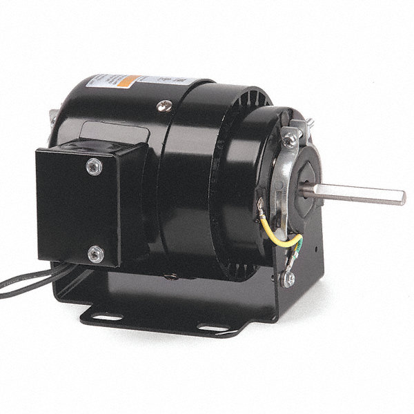 DAYTON 1/15 HP, HVAC Motor, Shaded Pole, 1550 Nameplate RPM, 115 Voltage, Frame 3.3