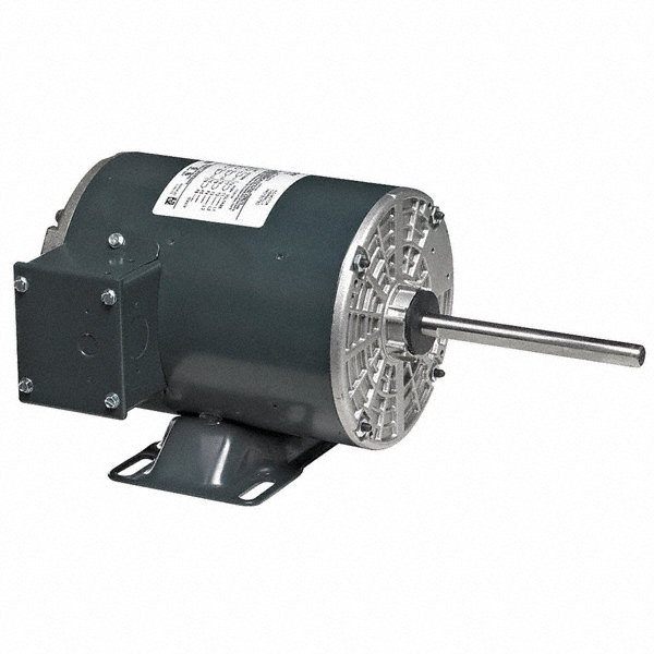 MARATHON MOTORS 1/MARATHON MOTORS 2 HP Condenser Fan Motor,3-Phase,850 Nameplate RPM,208-230/460 Voltage,Frame 56HZ