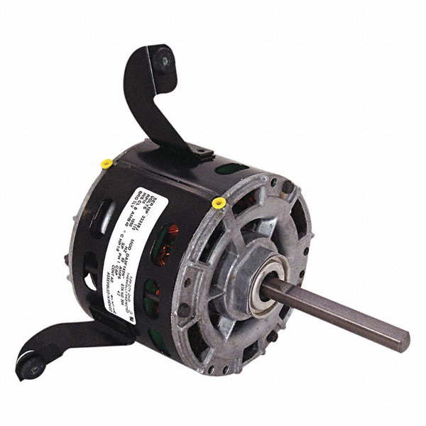 CENTURY 1/6 HP Direct Drive Motor, Shaded Pole, 1050 Nameplate RPM, 115 VoltageFrame 42