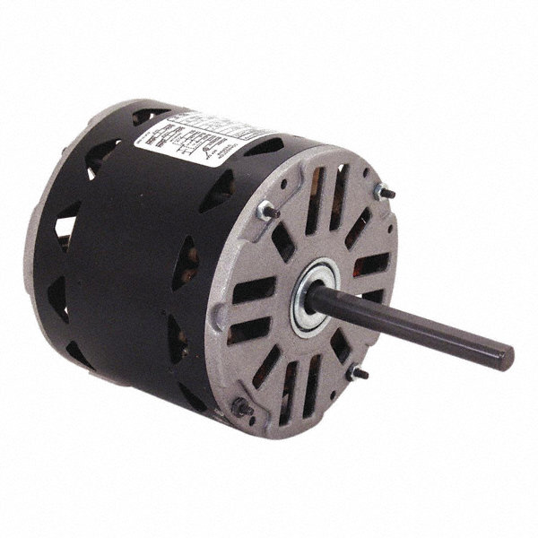 CENTURY 1/4 HP Direct Drive Motor, Permanent Split Capacitor, 1075 Nameplate RPM, 115 VoltageFrame 48Y