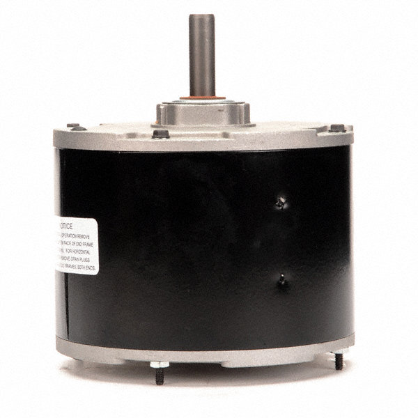 CENTURY 1/4 HP Condenser Fan Motor, Permanent Split Capacitor, 1100 Nameplate RPM, 208-230 Voltage