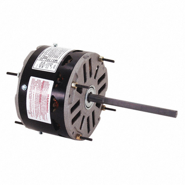 CENTURY 1/5 to CENTURY 1/8 HP Condenser Fan Motor, Permanent Split Capacitor, 1075 Nameplate RPM, 208-230 Voltage
