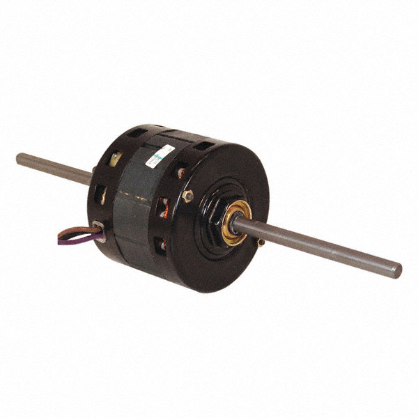 CENTURY 1/5 HP Room Air Conditioner Motor, Permanent Split Capacitor, 1075 Nameplate RPM, 208-230 Voltage