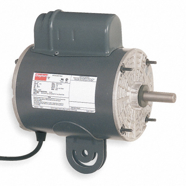1/3 HP Pedestal Fan Motor, Permanent Split Capacitor, 825 Nameplate RPM,115 Voltage, Frame 48YZ
