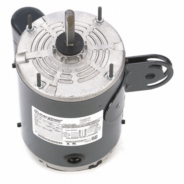 1/2 HP Pedestal Fan Motor, Permanent Split Capacitor, 1075 Nameplate RPM,115 Voltage, Frame 48Y