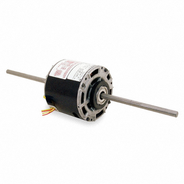 1/10 HP Room Air Conditioner Motor,Permanent Split Capacitor,1050 Nameplate RPM,277 Voltage,Frame 42