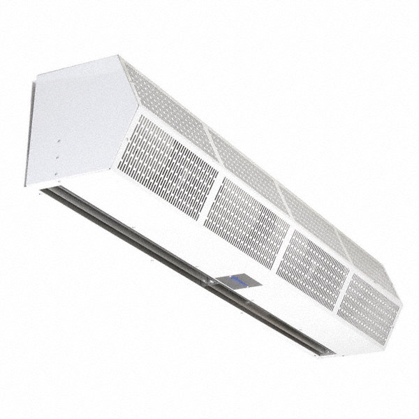 BERNER Air Curtain, 3 ft. 6' Max. Door Width, 7 ft. Max. Mount Ht., 67 dBA @ 10 Feet, 3500 fpm
