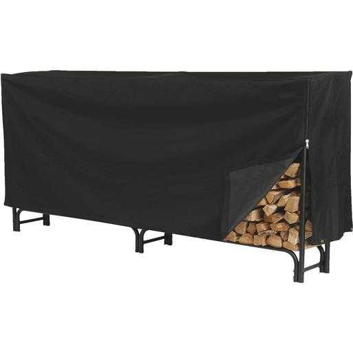 Hy-C Co. Xl Log Rack Cover SLRCD-XL Unit: EACH