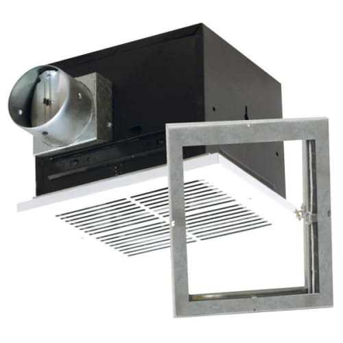 Air King FRAK110 110 CFM Quiet Bath Fan Only with 2.0 Sones from the Fire Rated Collection