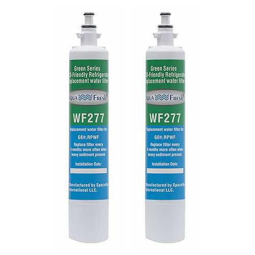 Aqua Fresh Replacement Water Filter Cartridge for GE PFE29PSDASS - (2 Pack)