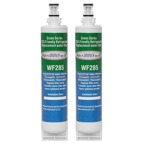 Aqua Fresh Replacement Water Filter Cartridge for KitchenAid KDDO24RVX - (2 Pack)
