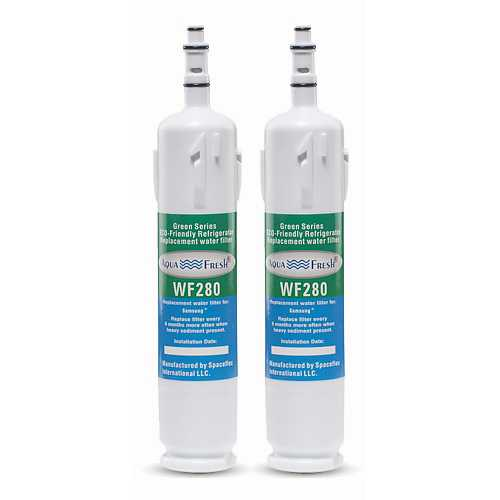 Aqua Fresh Replacement Water Filter Cartridge for Samsung RM255LASH - (2 Pack)