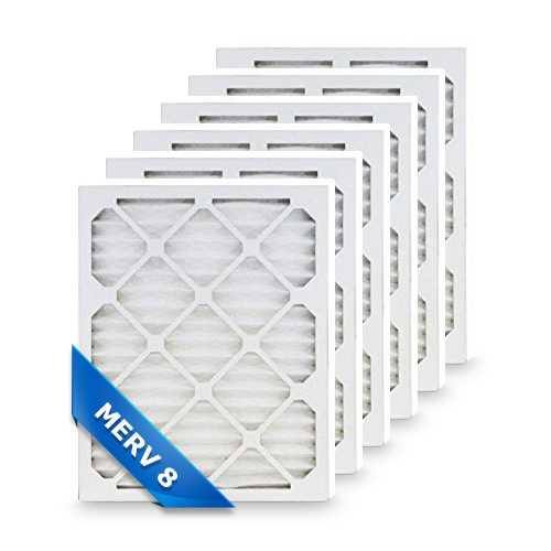 Replacement Pleated Air Filter for 16x24x1 Merv 8 (6-Pack)