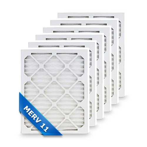 Replacement Air Filter for Honeywell 16x25x4 MERV 11 (6-Pack) Replacement Air Filter
