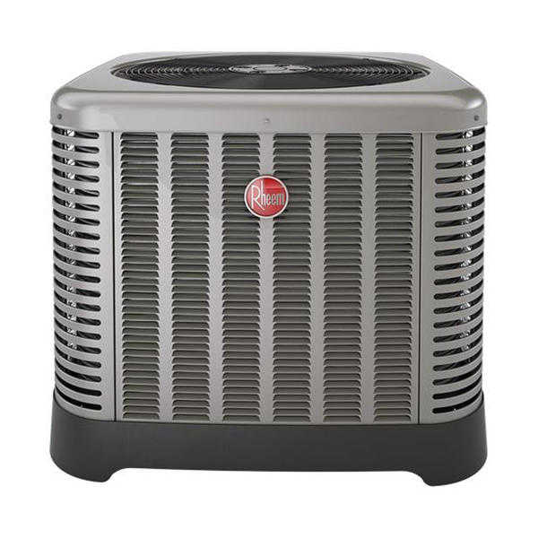Rheem or Ruud RA1618AJ1NA 18000BTU Room Air Conditioner with Single-Row Condenser Coil - Gray