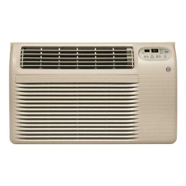 GE Appliances AJEQ08ACF 8200 BTU Built-In Heat/Cool Air Conditioner without Wall Sleeve - Soft Gray