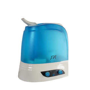 SPT SU-2628B: Dual Mist Humidifier with ION Exchange Filter