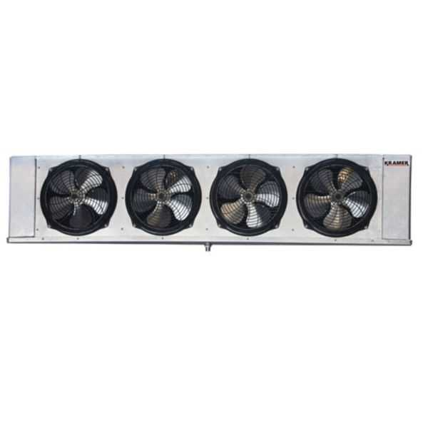 Kramer - KL6E121DPA - 12,100 BTUH - Low Profile Unit Cooler, Electric Defrost, 208-230/1/60, PSC Motor