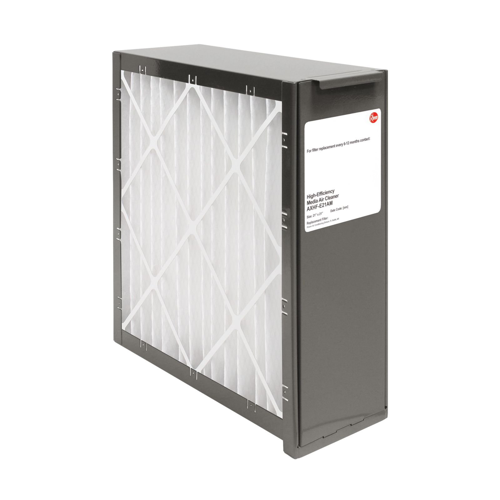 Rheem AXHF-E21AM - PROTECH Exact Fit Media Air Cleaners - Includes Merv 8 Filter Media - 21 1/8""