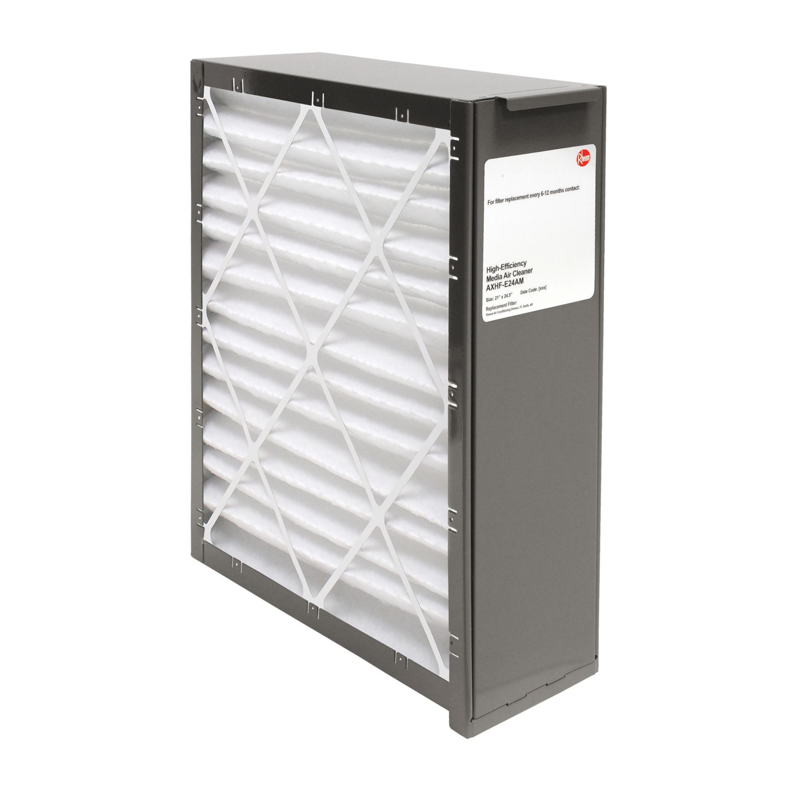 Rheem AXHF-E24AM - PROTECH Exact Fit Media Air Cleaners - Includes Merv 8 Filter Media - 24 1/2""