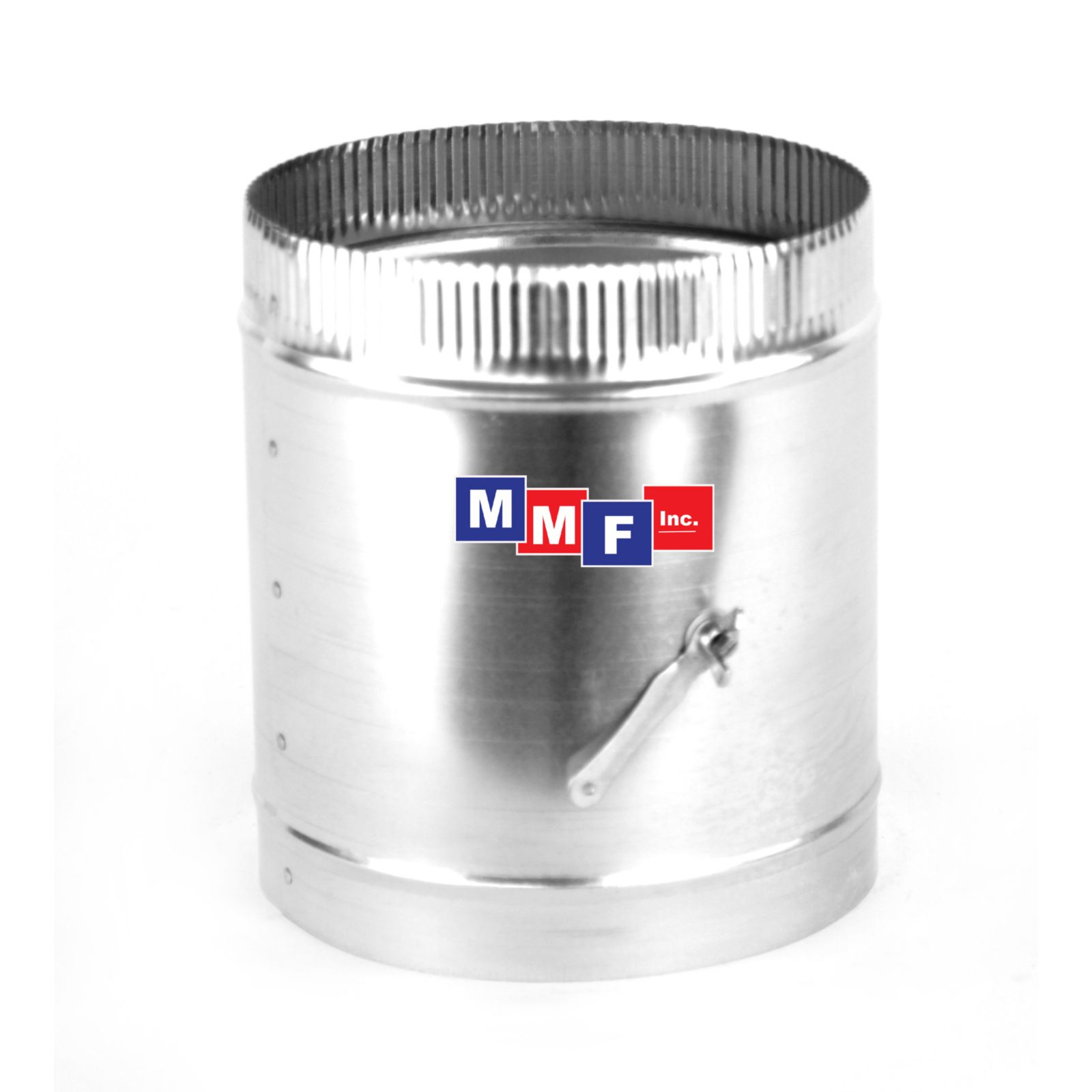 "Modular Metal DMSI10KSR195 - Sleeve - 26 Gauge/26 Gauge Damper - 10"" X12"" Long With 3/8"" Control Rod - 1.5"" Stand Off"