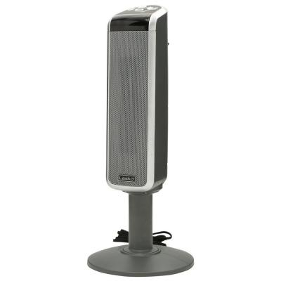 29 in. 1500-Watt Ceramic Pedestal Heater with Digital Remote Control