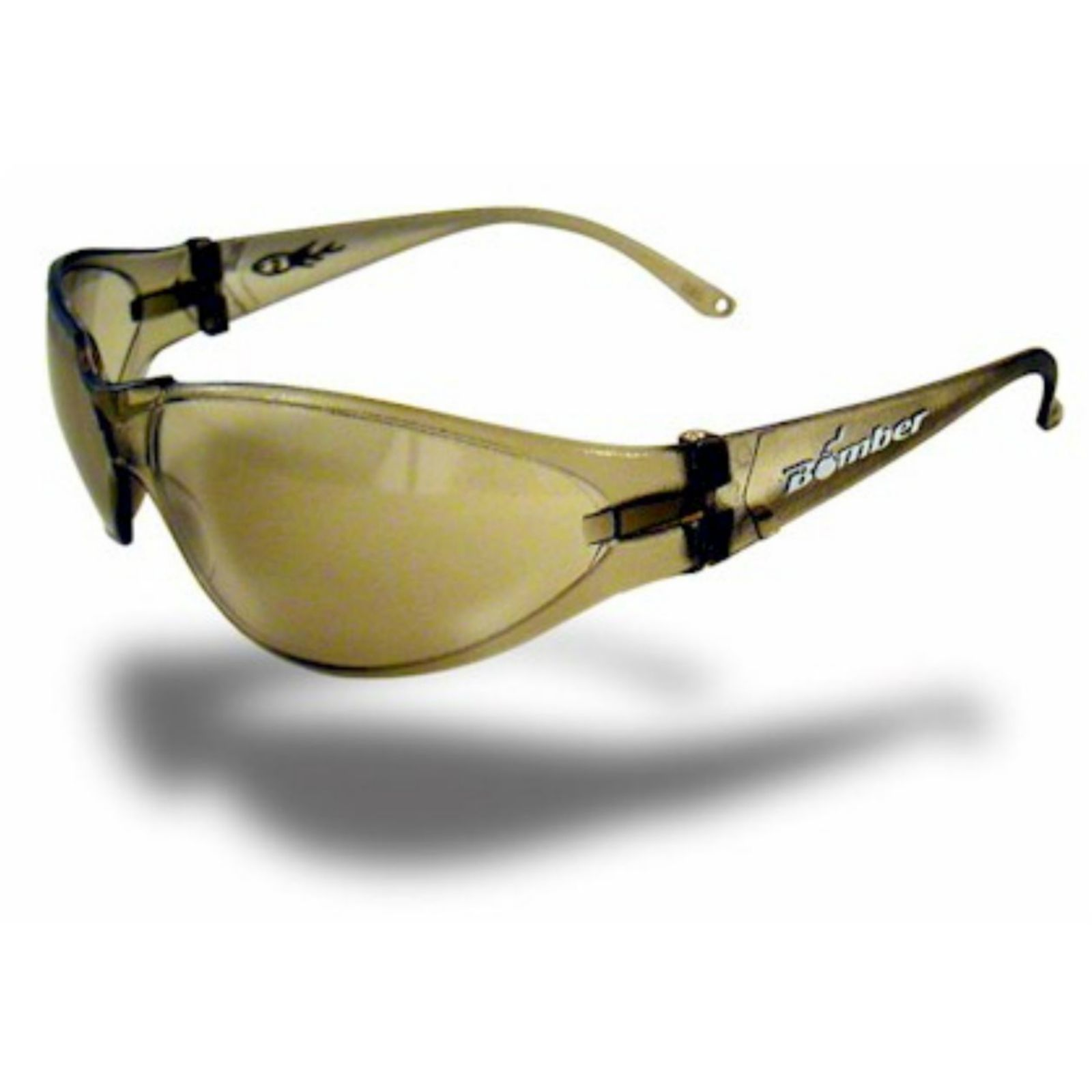 Bomber R106 -  #, X-Bombs Safety Glasses, Light brown