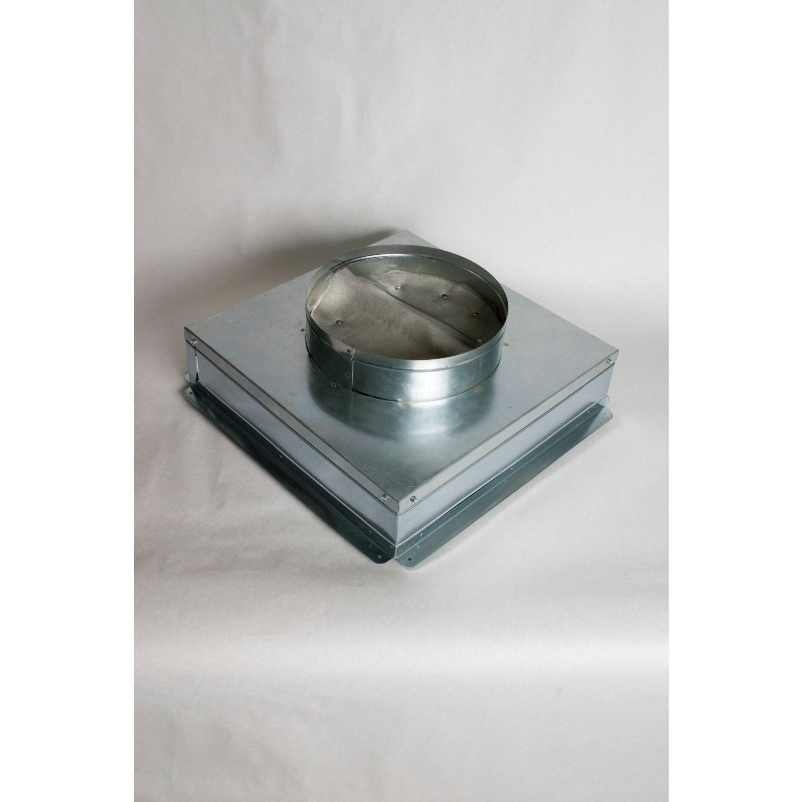 "R-6 Ceiling Radiation Damper Top, Model CRD, 10"" X 10"" X 8"""