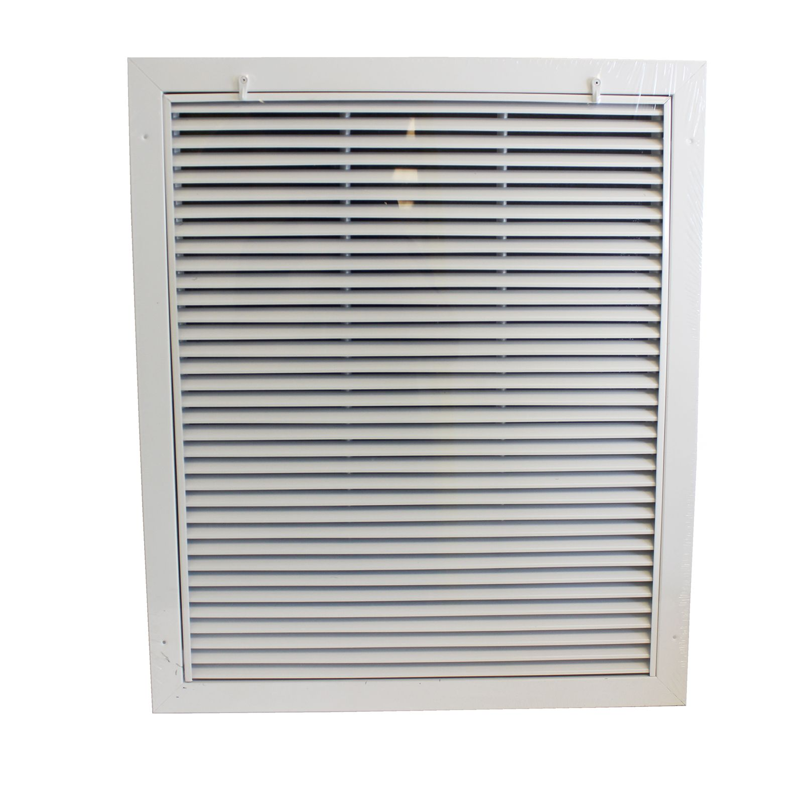 "Grille Tech RAFGS2024 - Aluminum Return Air Filter Grille, Grille Size 20"" X 24"" White"