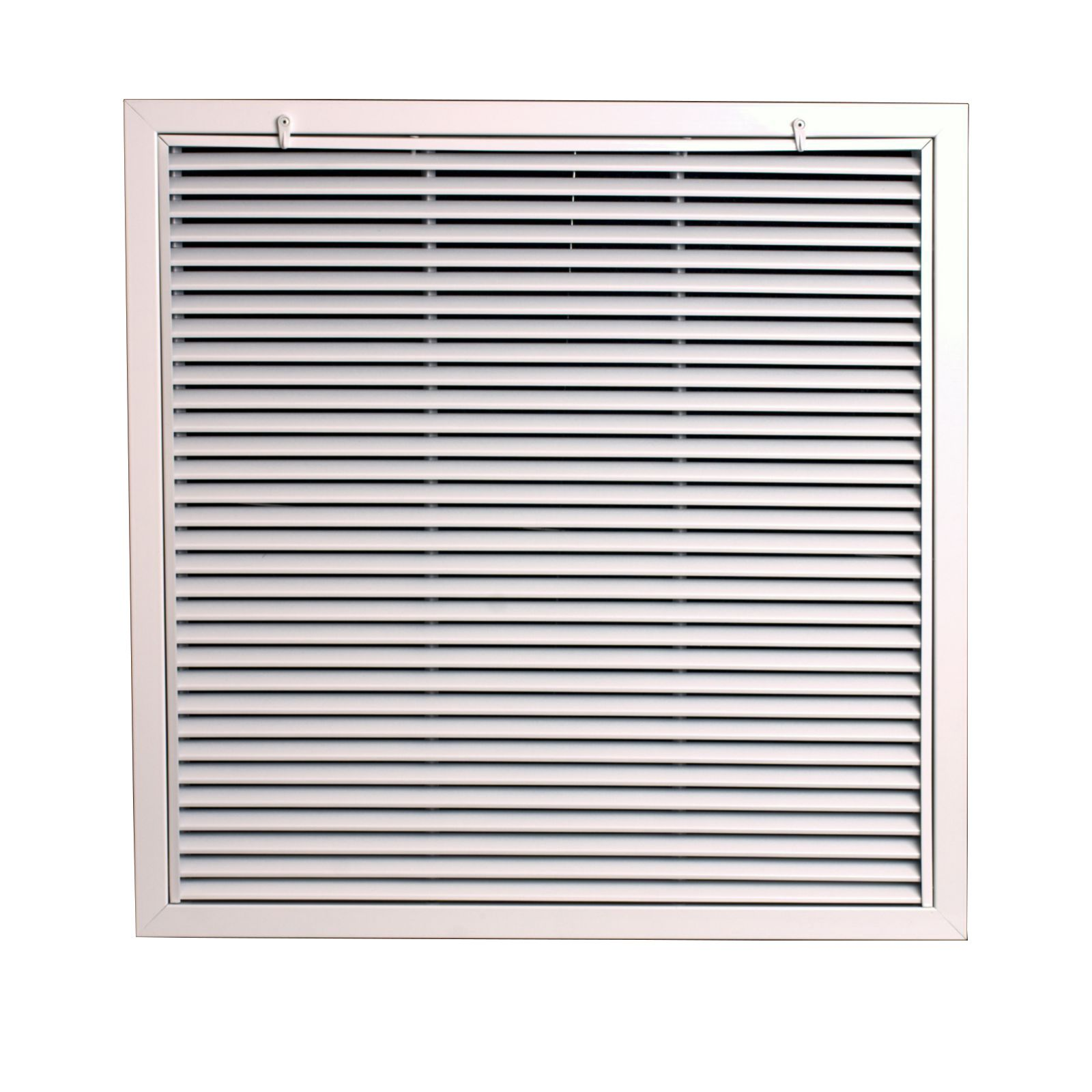 "Grille Tech RAFT2424 - Aluminum T-Bar Lay-In Filter Return, 24"" X 24"" - Opens to accept 1"" Filter"